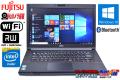 中古ノートパソコン 富士通 LIFEBOOK A553/H Celeron 1000M (1.80GHz) Windows10 64bit メモリ4GB マルチ WiFi カメラ Bluetooth