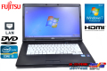 Windows7 64bit 中古ノートパソコン 富士通 LIFEBOOK A561/D Core i5 2520M(2.50GHz) メモリ2G DVD-ROM 15.6型