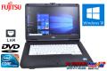 Windows10 富士通ノートパソコン LIFEBOOK A550/A Core i5 520M(2.4GHz) メモリ4G DVD-ROM 15.6型HD液晶