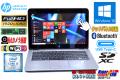 タッチパネル USBType-C M.2SSD 中古ノートパソコン HP EliteBook 820 G3 第6世代 Core i5 6300U (2.40GHz) メモリ8G WiFi(ac) カメラ Bluetooth