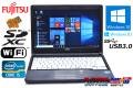 メモリ8G 中古ノートパソコン 富士通 LIFEBOOK S762/G Core i5 3340M (2.70GHz) WiFi USB3.0 Windows10 64bit 13.3型モバイル