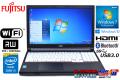 中古ノートパソコン 富士通 LIFEBOOK A574/MX Core i3 4000M (2.40GHz) メモリ4G マルチ WiFi USB3.0 Windows7 Windows10 リカバリ付