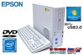 中古パソコン EPSON Endeavor AT992E デュアルコア Celeron G1840 (2.80GHz) Windows7 メモリ2G HDD500GB DVD Windows7リカバリ付