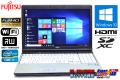 フルHD 中古ノートパソコン 富士通 LIFEBOOK E741/D Core i7 2640M (2.80GHz) Windows10 64bit メモリ4G マルチ WiFi HDMI テンキー