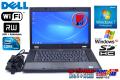 訳あり Windows7 XPリカバリ付 中古ノートパソコン DELL Latitude E5510 2コア/4スレッド Core i5 520M (2.40GHz) メモリ4G HDD250G マルチ WiFi