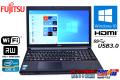 メモリ8GB 富士通 中古ノートパソコン LIFEBOOK A573/G Core i5 3340M (2.70GHz) Windows10 マルチ WiFi USB3.0 HDMI