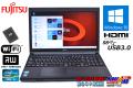 メモリ8GB 新品SSD 富士通ノートパソコン LIFEBOOK A573/G Core i5 3340M (2.70GHz) Windows10 マルチ WiFi USB3.0 HDMI