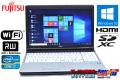 中古ノートパソコン 富士通 LIFEBOOK E741/D Core i7 2640M (2.80GHz) Windows10 64bit メモリ4G マルチ WiFi HDMI テンキー
