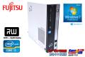 Windows7 32bit 中古パソコン 富士通 ESPRIMO D551/FX Core i3-3220 (3.30GHz) マルチ リカバリディスク付属