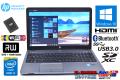 新品SSD 中古ノートパソコン HP ProBook 450 G1 Core i3 4000M 2.40GHz メモリ4G WiFi (ac) マルチ Bluetooth Windows10