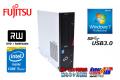 Windows7 32bit 中古パソコン 富士通 ESPRIMO D753/K Core i5-4590 (3.30GHz) メモリ4GB マルチ USB3.0 リカバリ付