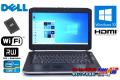 訳あり 新品SSD メモリ8G 中古ノートパソコン DELL Latitude E5420 Core i7 2620M (2.70GHz) 14型HD+ マルチ WiFi Windows10