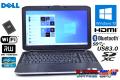 新品SSD 中古ノートパソコン DELL LATITUDE E5530 Core i5 3320M (2.60GHz) メモリ4G マルチ WiFi USB3.0 Bluetooth Windows10