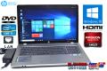 アウトレット 中古ノートパソコン 超大画面17.3型 HP ProBook 4730s Core i3 2310M (2.10GHz) メモリ4GB RadeonHD Windows10 訳あり