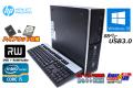 新品SSD+HDD 中古パソコン HP Pro 6300 SFF 4コア Core i5 3470 (3.20GHz) メモリ4G マルチ Windows10