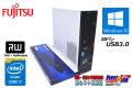 中古パソコン 4コア8スレッド Core i7 4790 (最大4.00GHz) 富士通 ESPRIMO D583/KW メモリ8G HDD1T マルチ USB3.0 Windows10 64bit