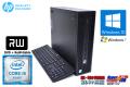 第6世代 SkyLake 中古パソコン HP ProDesk 600 G2 SFF 4コア Core i5 6500 (3.20GHz) メモリ4G USB3.0 マルチ Windows10 64bit