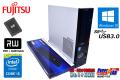 中古パソコン 富士通 ESPRIMO D583/HX Core i5 4570 (3.20GHz) 新品SSD256G メモリ8GB Windows10 64bit マルチ USB3.0
