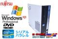WindowsXP シリアル パラレル 中古パソコン 富士通 ESPRIMO D581/C Core i3 2100 (3.10GHz) メモリ4GB DVD HDD320GB