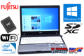 新品SSD搭載 中古ノートパソコン 富士通 LIFEBOOK P772/F Celeron 887 (1.50GHz) Windows10 64bit メモリ4G WiFi USB3.0 SDXC