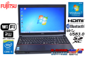 Windows7 32bit 富士通ノートパソコン LIFEBOOK A574/H Core i5 4300M (2.60GHz) メモリ4G マルチ WiFi USB3.0 Bluetooth HDMI