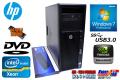 メモリ16GB Windows7 64bit HP Z420 Xeon E5-1620(3.60GHz)  HDD500GB DVD Quadro4000 中古ワークステーション