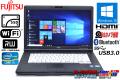 SSD搭載 中古ノートパソコン 富士通 LIFEBOOK A572/F Core i3 3110M (2.40GHz) メモリ4G マルチ WiFi USB3.0 カメラ Windows10 64bit HD+