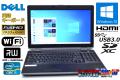 英語キーボード フルHD 中古ノートパソコン DELL Latitude E6530 Core i5 3340M (2.70GHz) メモリ4G Windows10 マルチ Wi-Fi USB3.0 HDMI SDXC