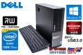 メモリ8GB 中古パソコン DELL OPTIPLEX 9020 SF 4コア8スレッド Core i7 4770 (3.40GHz) Windows10 HDD1TB マルチ Radeon HD