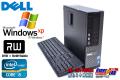 WindowsXP 中古パソコン デル OPTIPLEX 790 4コア Core i5 2400 (3.10GHz) メモリ2G HDD250GB DVDマルチ Windows7