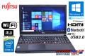 富士通 中古ノートパソコン LIFEBOOK A574/KX Core i5 4310M (2.70GHz) Windows10 メモリ4GB マルチ WiFi USB3.0 (Win7/8.1)