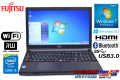 富士通 中古ノートパソコン LIFEBOOK A574/KX Core i5 4310M (2.70GHz) メモリ4GB マルチ WiFi USB3.0 Bluetooth Windows7 / 8.1