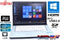 Windows10 64bit 中古ノートパソコン 富士通 LIFEBOOK E742/F Core i5 3320M(2.60GHz) メモリ4G マルチ 15.6型ワイド