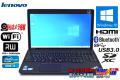 訳あり Webカメラ搭載 中古ノートパソコン Lenovo ThinkPad Edge E530c Core i3 3120M Windows10 Bluetooth メモリ4G W-iFi マルチ USB3.0
