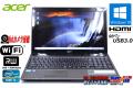美品 Webカメラ 中古ノートパソコン acer Aspire 5750 N54E/K Core i5 2410M メモリ4G HDD640G Wi-Fi マルチ HDMI Windows10