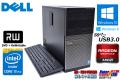 中古パソコン メモリ8GB DELL OPTIPLEX 9020 MT 4コア8スレッド Core i7 4770 (3.40GHz) Windows10 64bit HDD1TB マルチ Radeon Win8リカバリ付