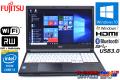 美品 Windows10 リカバリ付 中古ノートパソコン 富士通 LIFEBOOK A574/MX Core i3 4000M (2.40GHz) メモリ4G マルチ WiFi USB3.0 Bluetooth