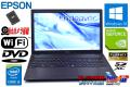 フルHD GeForce 中古ノートパソコン EPSON Endeavor NJ5950E Core i5 4210M メモリ8G 新品SSD256GB DVD Wi-Fi Webカメラ Windows10