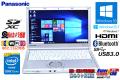 11ac 中古ノートパソコン パナソニック Let's note NX3 Core i5 4310U (2.00GHz) メモリ4G カメラ BT USB3.0 Windows10