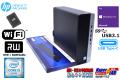 USBType-C 中古パソコン HP ProDesk 600 G3 SFF 4コア Core i5 6500 メモリ8G SSD256G Wi-Fi USB3.1 マルチ Windows10Proリカバリ付