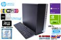 高速Wi-Fi 新品SSD+HDD1000G 中古パソコン HP EliteDesk 800 G3 TW Core i7 6700 メモリ16G Windows10 USB3.1 Type-C マルチ GeForce