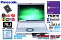 使用時間160H 中古ノートパソコン Panasonic Let's note SV8 第8世代 Core i5 8365U (最大4.10GHz) Windows10 メモリ8G SSD Wi-Fi (ac) マルチ USBType-C Webカメラ