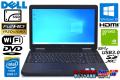 中古ノートパソコン フルHD GeForce DELL Latitude E5540 Core i7 4600U 新品SSD256G メモリ8G Wi-Fi USB3.0 DVD Windows10