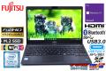 中古ノートパソコン フルHD 富士通 LIFEBOOK U938/S 第7世代 Core i5 7300U メモリ8G M.2SSD128G WiFi(ac) Bluetooth USB3.1Type-C Windows10