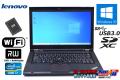 メモリ16G 中古ノートパソコン レノボ ThinkPad T430 Core i7 3520M SSD256G Wi-Fi マルチ SDXC USB3.0 Windows10