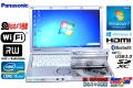 Windows7 中古ノートパソコン パナソニック Let's note SX2 Core i5 3340M (2.70GHz) メモリ4G USB3.0 WiFi マルチ BT カメラ
