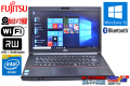 中古ノートパソコン 富士通 LIFEBOOK A553/H Celeron 1000M (1.80GHz) メモリ4GB マルチ WiFi カメラ Bluetooth Windows10