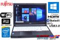 富士通 中古ノートパソコン LIFEBOOK A574/MX Core i3 4000M (2.40GHz) メモリ4G マルチ WiFi USB3.0 Bluetooth Windows7 /10 リカバリ付