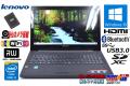 Webカメラ 中古ノートパソコン Lenovo ThinkPad G50-80 Core i3 5005U メモリ8G SSD256G Wi-Fi(ac) マルチ Bluetooth HDMI Windows10