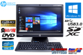 フルHD 中古パソコン 訳あり 液晶一体型 HP Compaq Pro 6300 AiO Core i3 3220 (3.30GHz) Windows10 64bit メモリ4GB カメラ 21.5ワイド液晶 アウトレット